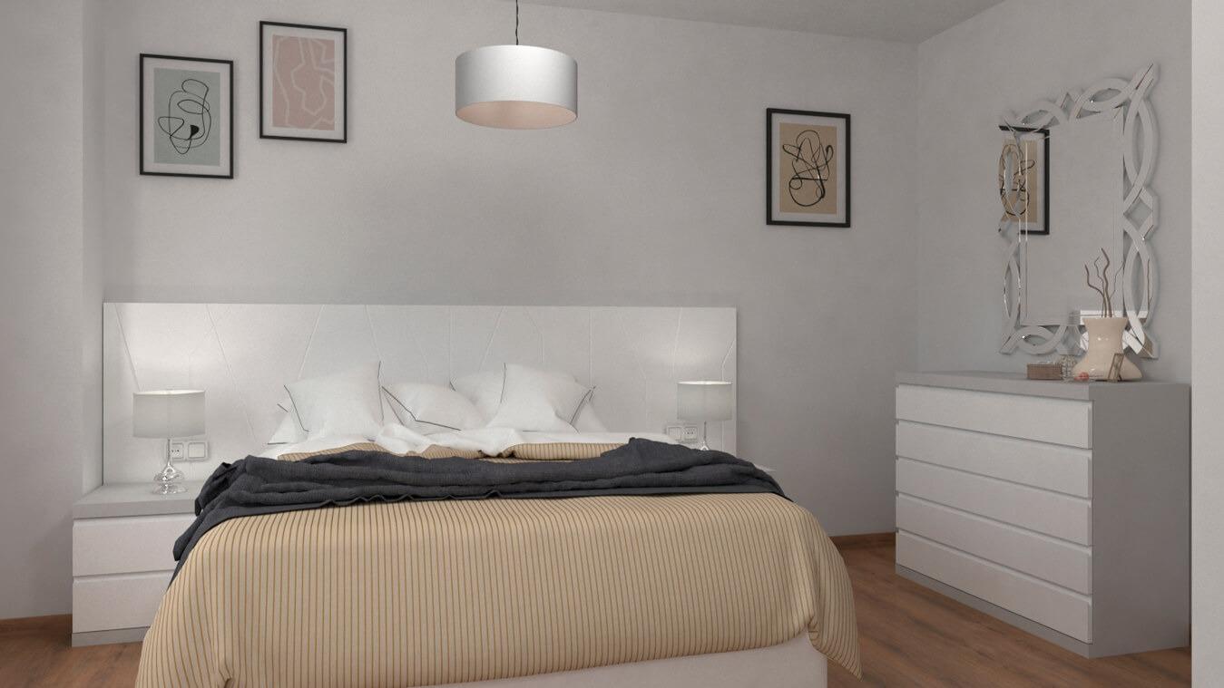 Dormitorio modelo YAKI - Ref: 00024