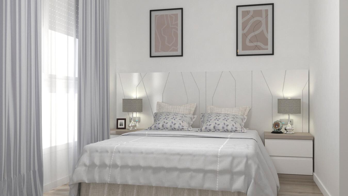 Dormitorio modelo YAKI - Ref: 00025